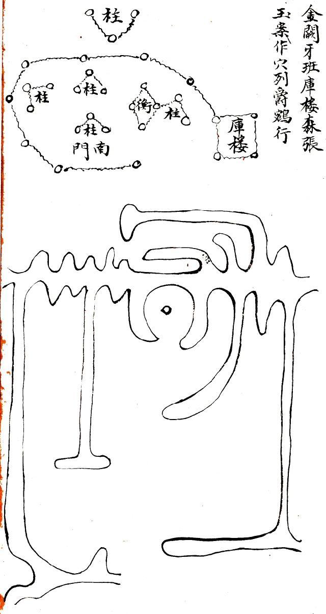 古代物品简笔画